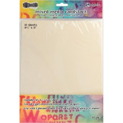 "Mixed Media Cardstock 8,5""x11"" 10 Pkg Dylusions by Dyan Reaveley Ranger"
