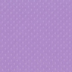 "Berry Pretty Dotted Swiss Cardstock 12""x12"" Bazzill"
