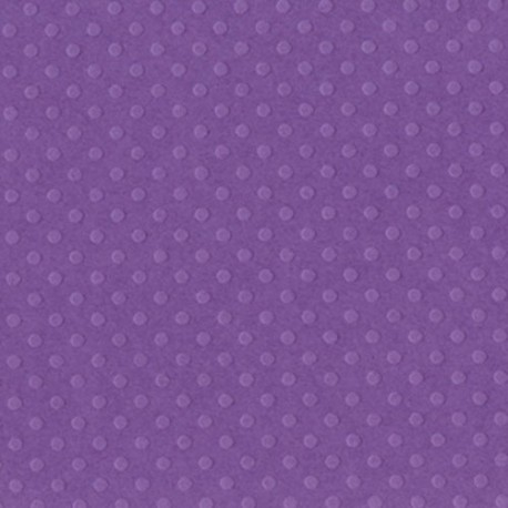 """Grape Gelly Dotted Swiss Cardstock 12""""x12"""" Bazzill"""