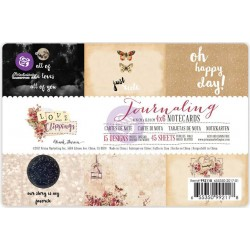 "Love Clippings Journaling Notecards 4""x6"" Prima Marketing"