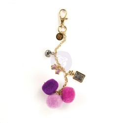 Le Parfum Pom Pom Key Chain My Prima Planner Embellishments Prima Marketing