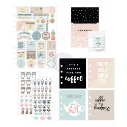 Coffe & Tea Lovers My Prima Planner Goodie Pack Prima Marketing