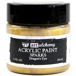 Sragon's Eye Sparks Acrylic Paint Art Alchemy by Finnabair Prima Marketing