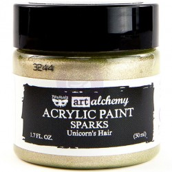 Unicorn's Hair Sparks Acrylic Paint Art Alchemy by Finnabair Prima Marketing