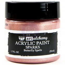 Butterfly Spells Sparks Acrylic Paint Art Alchemy by Finnabair Prima Marketing