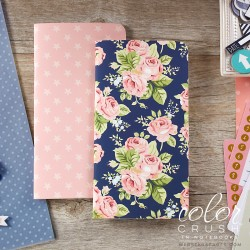 Floral & Stars Planner Notebooks Standard Size 2 Pkg Webster's Pages