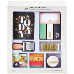 Hello Today Color Crush Planner & Stationery Accents Kit Webster's Pages