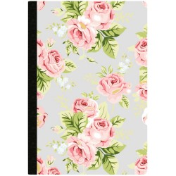Gray Floral Doted Grid Sheets Color Crush Composition Planner Notebook Webster's Pages
