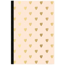 Gold Heart Day Tracker Color Crush Composition Planner Notebook Webster's Pages
