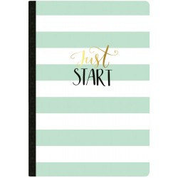 Just Start Undated Calendar Color Crush Composition Planner Notebook Webster's Pages