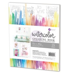 Do What You Love Water Coloring Book Prima Marketing