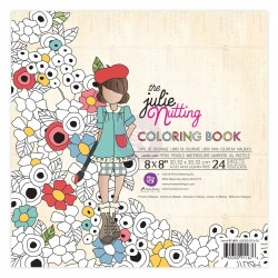 "The Julie Nutting Water Coloring Book 8""x8"" Prima Marketing"