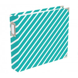 "Awesome Diagonal Stripes Edition D-Ring Album 12""x12"" Project Life"