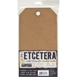 "Etcetera Small Tag 5,5""x10"" by Tim Holtz Stampers Anonymous"