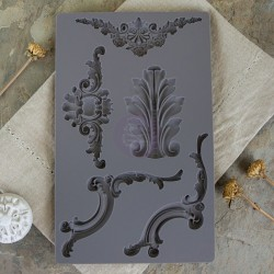 Baroque 4 Vintage Art Decor Mould Prima Marketing