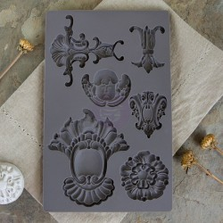 Baroque 2 Vintage Art Decor Mould Prima Marketing