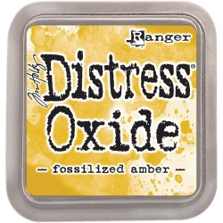 Fossilized Amber Distress Oxide Ink Pad Tim Holtz