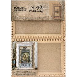 Mini Wooden Framed Panels Idea-ology by Tim Holtz