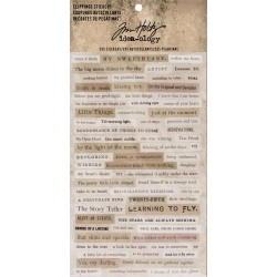 Clippings Stickers Idea-ology by Tim Holtz