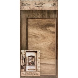 Wooden Vignette Trays Idea-ology by Tim Holtz