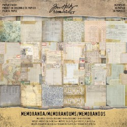 "Memoranda Paper Stash 12""x12"" Idea-ology by Tim Holtz"