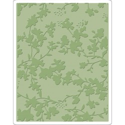 Floral Texture Fades A2 Embossing Folder Tim Holtz