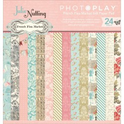 """French Flea Market 6""""x6"""" Paper Pad by Julie Nutting PhotoPlay"""