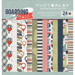 "Boarding Pass 6""x6"" Paper Pad by Tracy Smith PhotoPlay"