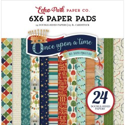 """Once Upon A Time 6""""x6"""" Paper Pad Echo Park"""
