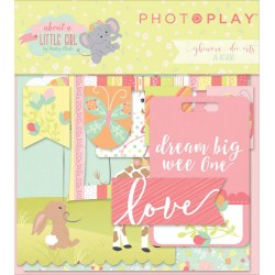 About a Little Girl Ephemera Die Cuts by Becky Heck Photo Play