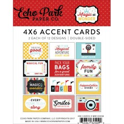 "Magic And Wonder 4""x6"" Accent Cards Echo Park"