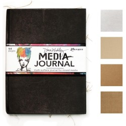 "Dina Wakley Media Journal 8""X10"""