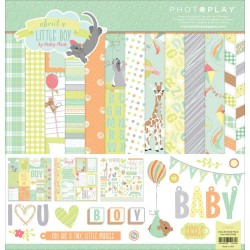 "About A Little Boy 12""x12"" Collection Pack by Becky Heck PhotoPlay"