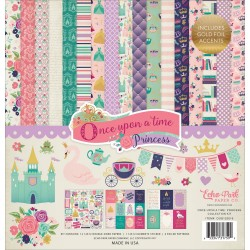 "Once Upon A Time Princess 12""x12"" Collection Kit Echo Park"