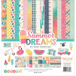 "Summer Dreams 12""x12"" Collection Kit Echo Park"