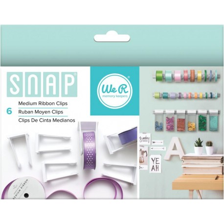 Snap Medium Ribbon Clips We R Memory Keepers