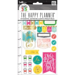 Faith Gratitude Planner Stickers Classic Create 365 The Happy Planner Me & My Big Ideas