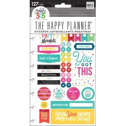 Happy Brights Planner Stickers Classic Create 365 The Happy Planner Me & My Big Ideas