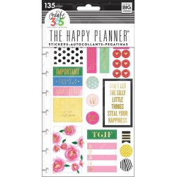 Make It Happen Planner Stickers Classic Create 365 The Happy Planner Me & My Big Ideas