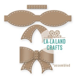 Stitched Bow Steel Craft Dies La-La Land Crafts