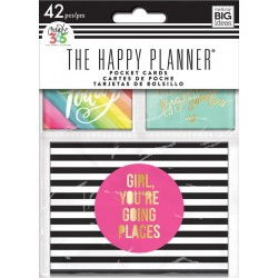 Mini Planner Pocket Cards Create 365 The Happy Planner Me & My Big Ideas