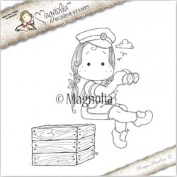 Timbro Sea CaptainTilda With Box Magnolia Rubber Stamp - NA17