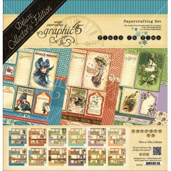 """Place in Time Deluxe Collector's Edition Papercrafting Set 12""""x12"""" Graphic45"""