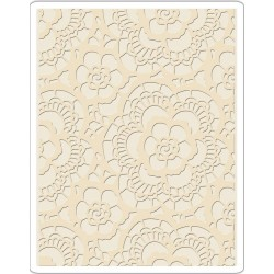 Lace Texture Fades A2 Embossing Folder Tim Holtz