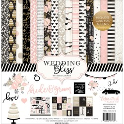 "Wedding Bliss 12""x12"" Collection Kit Echo Park"