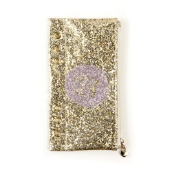 Gold Glitter Pencil Pouch My Prima Planner Prima Marketing