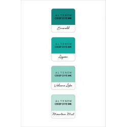 Sea Shore Mini Cube Set Crisp Dye Ink Altenew