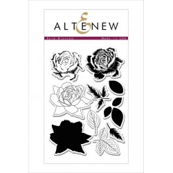 "Bold Blossom Clear Stamps Set 4""x6"" Altenew"