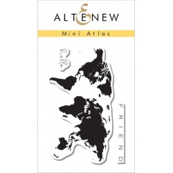 "Mini Atlas Clear Stamp Set 2""x3"" Altenew"