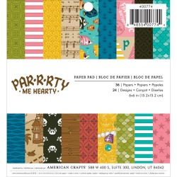 "Par-R-Rty Me Hearty Paper Pa 6""x6"" American Crafts"